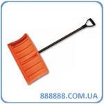 Лопата-плуг для уборки снега с металлическим черенком KT-CXG811 Bradas