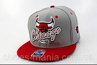 Кепка с прямым козырьком NBA Chicago Bulls Z-10620-12