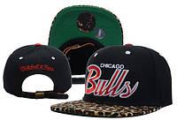 Кепка с прямым козырьком NBA Chicago Bulls Z-10620-13
