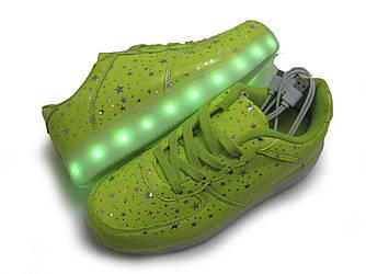 LED-кеды женские