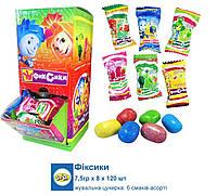 Жевательная конфета Фиксики 120 шт (JJ Пакистан)
