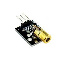 Модуль лазерного диода KY-008 для Arduino , 5 вольт, красный