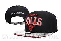 Кепка с прямым козырьком NBA Chicago Bulls Z-10620-16