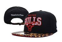 Кепка с прямым козырьком NBA Chicago Bulls Z-10620-18