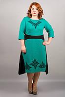 Платье Марта (бирюза)