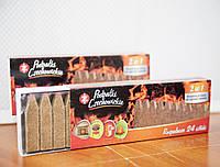 Спички длительного горения Czechowice в выдвижной картонной упаковке (24 шт.)