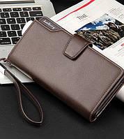 Baellerry Business, коричневый кошелек на руку, фото 1