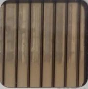 Бронза 4 мм (2,1х6,0 м) Поликарбонат сотовый WinnPol (Винпол)