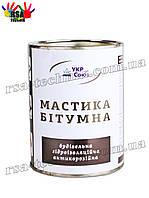 Мастика битумная УкрСоюз Строительная, гидроизоляционная, антикоррозийная 2,7 кг