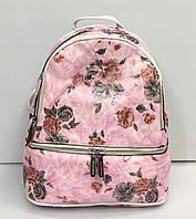 Рюкзак Silvia Rosa 2199 городской молодежный модный на два отдела с принтом