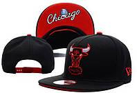 Кепка с прямым козырьком NBA Chicago Bulls Z-10620-20