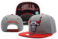 Кепка с прямым козырьком NBA Chicago Bulls Z-10620-19