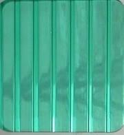 Зелёный 4 мм (2,1х6,0 м) Поликарбонат сотовый WinnPol (Винпол)
