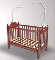 Держатель для балдахина на детскую кроватку.
