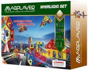 Конструктор Magplayer магнитный набор 112 эл. MPB-112 Magplayer MPB-112