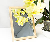 Зеркало в багете, зеркала настольные, зеркала настенные, зеркало с подставкой, 1611-96, фото 1