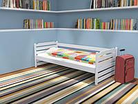Кровать Котигорошко односпальная из массива бука