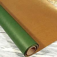 Подарочная крафт-бумага в рулоне двухсторонняя (50 см*10 м)