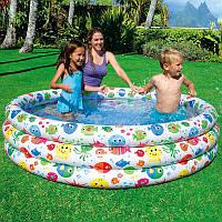 Надувной детский бассейн Интекс 56440 168 х 40 см