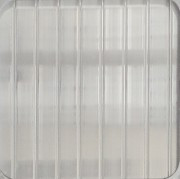 Прозрачный 4 мм (2,1х6,0 м) Поликарбонат сотовый WinnPol (Винпол)