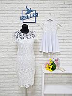 Комплект шикарных кружевных платьев мама и дочка