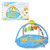 Детский игровой коврик для малышей М 2123 + музыка
