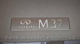 Infiniti M37 2011-2013 коврики в салон велюровые бежевые Новые Оригинальные
