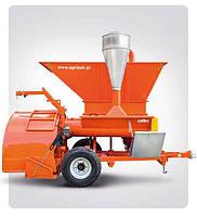 Упаковочная машина с дробилкой для зерновых рукавов EURO