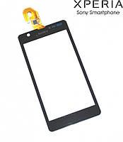 Touchscreen (сенсорный экран) для Sony C5502 M36h Xperia ZR, черный, оригинал