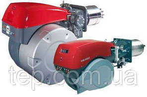Газовые двухступенчатые прогрессивные или модуляционные горелки Riello серии RS/E-EV BLU