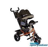 Детский трехколесный велосипед Crosser One колеса EVA
