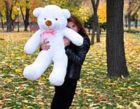 Плюшевая игрушка медведь, мишка 100 см, белый