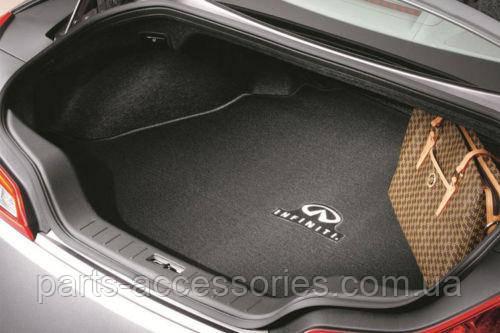 Купе Infiniti G37 2008-13 велюровий килимок в багажник Новий Оригінальний