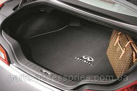 Infiniti G37 купе 2008-13 велюровый коврик в багажник Новый Оригинальный