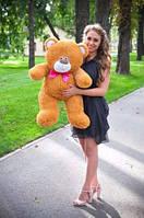 Плюшевая игрушка медведь, мишка 80 см, карамельный