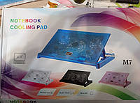 Охладитель-подставка под ноутбук с 5 кулерами