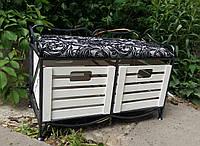 Диван-этажерка прованс (сидушка, 2 ящика)