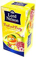 Чай мультифруктовый Lord Nelson Fresh and Fruity 20 пакетов.