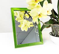 Зеркало в багете, зеркала настольные, зеркала настенные, зеркало с подставкой, 1611-36, фото 1