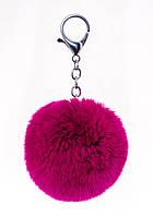 Аксессуар меховой Fluffy, фиолетовый 554230