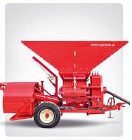 Упаковочная машина с плющилкой для зерновых рукавов EURO