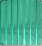 Зелёный 6 мм (2,1х6,0 м) Поликарбонат сотовый WinnPol (Винпол)