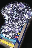 Детское зимнее одеяло-подстилка для санок