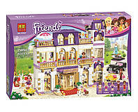 "Конструктор Bela Friends 10547 ""Гранд-отель в Хартлейке"" (аналог LEGO Friends 41101), 1585 дет​"