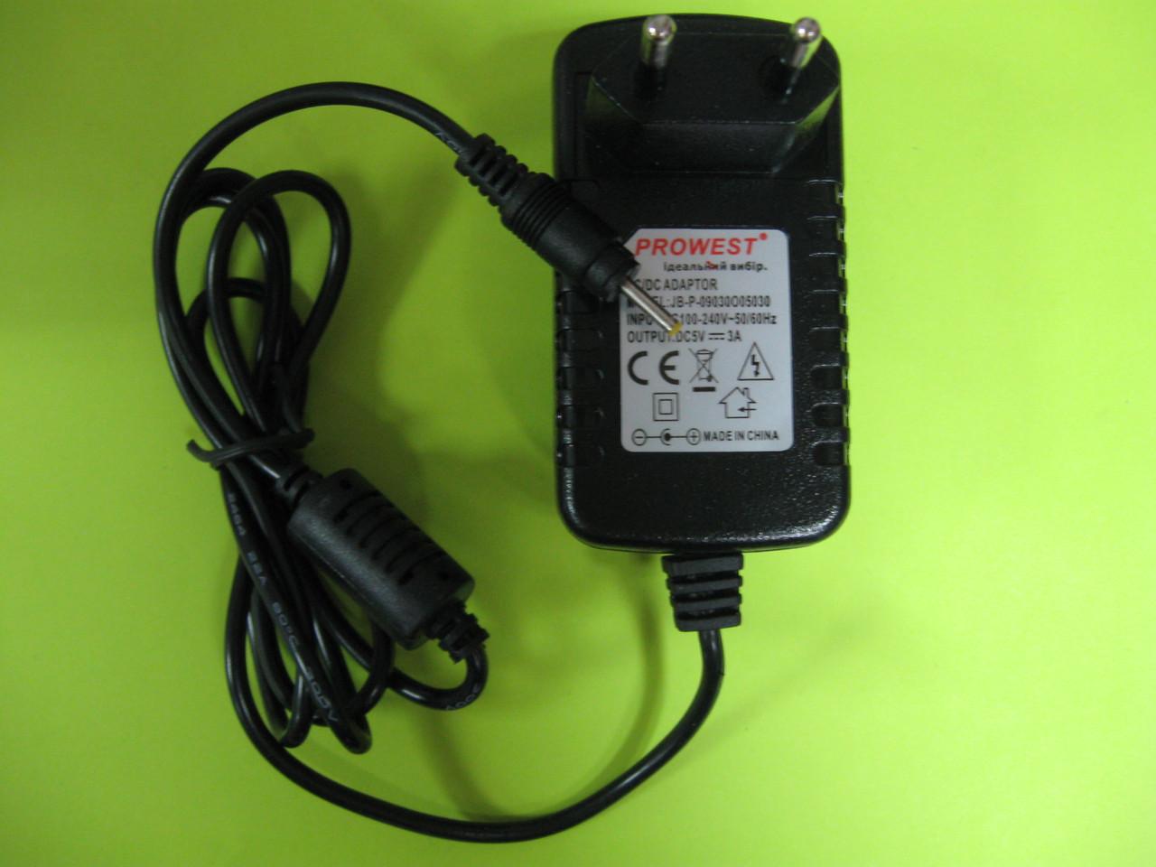 Блок питания 5V 3A штекер 2.5-0.7mm
