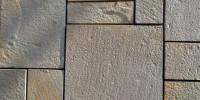 Песчаник серый резаный