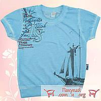 Турецкие футболки для мальчика от 2 до 6 лет (5245-1)