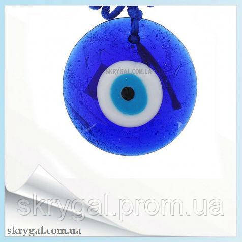 """Назар"" (синий глаз) - оберег от сглаза и порчи (9х9 см)"