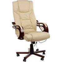 Кресло офисное Prezydent Calviano бежевое S