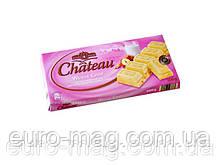 "Шоколад ""Chateau"" Weisse Crisp, белый с кусочками фундука и криспи, 200г"